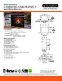 Specifications Sheet   42 Models