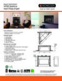 VFI33 Spec Sheet