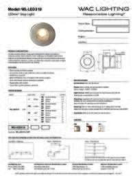 WL LED310 Specs