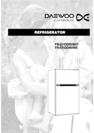 FR 031DDRVBE manual