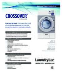 Crossover Dryer Specs