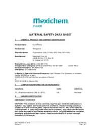 MSDS Information