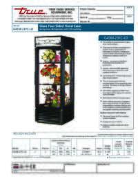 G4SM 23FC LD Spec Sheet