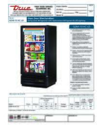 GDM 10 HC LD Spec Sheet