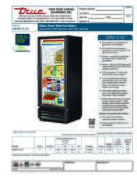 GDM 12 LD Spec Sheet