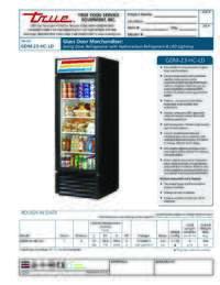 GDM 23 HC LD Spec Sheet