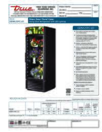 GDM 23FC LD Spec Sheet