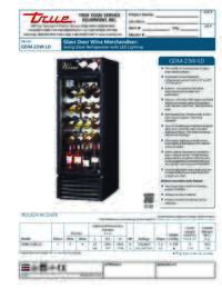 GDM 23W LD Spec Sheet