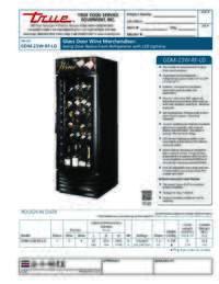 GDM 23W RF LD Spec Sheet