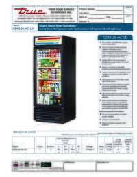 GDM 26 LD Spec Sheet