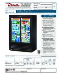 GDM 33CPT LD Spec Sheet