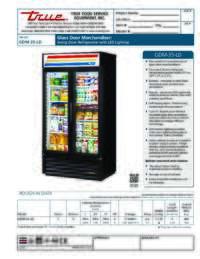 GDM 35 LD Spec Sheet