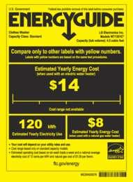 WT1301 Energy Guide