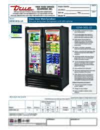 GDM 36SL LD Spec Sheet