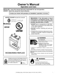 SB100 Owner's Manual