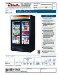 GDM 41 LD Spec Sheet