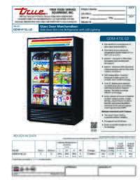 GDM 41SL LD Spec Sheet