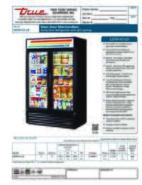 GDM 43 LD Spec Sheet