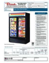 GDM 43F LD Spec Sheet