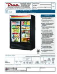 GDM 47 LD Spec Sheet