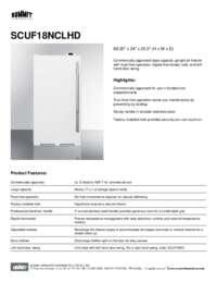 Brochure SCUF18NCLHD