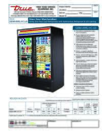 GDM 49RL HC LD Spec Sheet