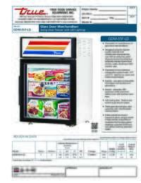 GDM 5F LD Spec Sheet