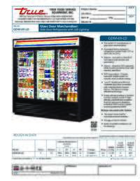 GDM 69 LD Spec Sheet
