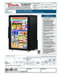 GDM 7 LD Spec Sheet