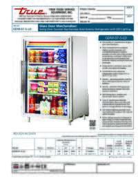 GDM 7 S LD Spec Sheet