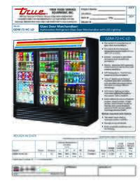 GDM 72 HC LD Spec Sheet