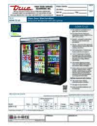 GDM 72 LD Spec Sheet