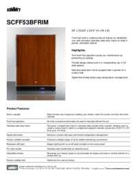 Brochure SCFF53BFRIM