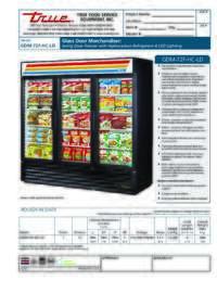 GDM 72F HC LD Spec Sheet