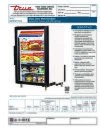 GDM 7F LD Spec Sheet