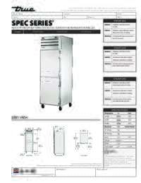 STA1DT 2HS Spec Sheet