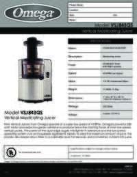 VSJ843QS R specs 110514