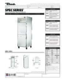 STA1F 2HS Spec Sheet
