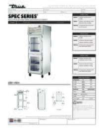 STA1H 2HG Spec Sheet