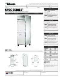 STA1H 2HS Spec Sheet