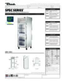 STA1R 2HG Spec Sheet