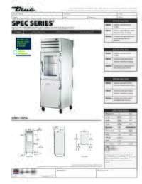 STA1R 1HG 1HS Spec Sheet