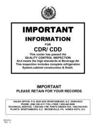 CDR manual