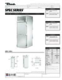 STA1FRI 1S Spec Sheet