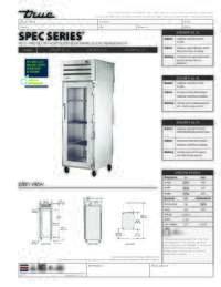 STA1RPT 1G 1S Spec Sheet