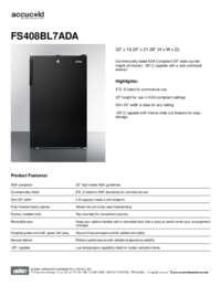 Brochure FS408BL7ADA (1)
