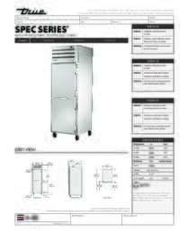 STA1H 1S Spec Sheet