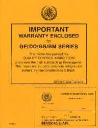 DD BB BM GF manual