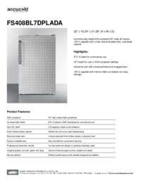 Brochure FS408BL7DPLADA