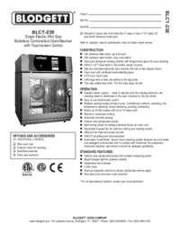 BLCT 23E spec